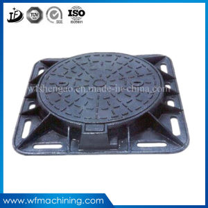 OEM Manhole Cover Ductile Iron Casting Round Sewer Manhole Cover for Driveway Drainage pictures & photos