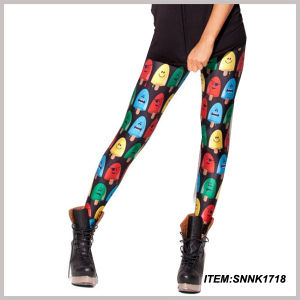 Wholesale Fashion Leggings Digital Printing Leggings (SNNK1818) pictures & photos