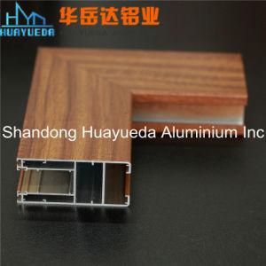 Windows and Doors Aluminium of Wooden Grain Transfer pictures & photos