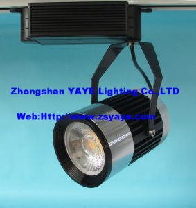 Yaye CE & RoHS Approval 40W COB LED Track Light / 40W COB LED Track Lamp with Warranty 2/3 Years pictures & photos
