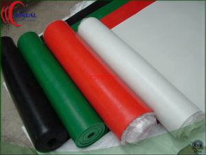 Five Colors of SBR+Cr (Neoprene) Rubber Sheet for Floor pictures & photos