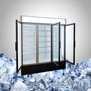3 Glass Door Commercial Refrigerator pictures & photos