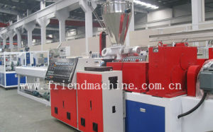 PVC Double Cavity Pipe Extrusion Machine / Plastic Pipe Production Line pictures & photos