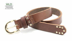 Fashion Basic Genuine Top Leather Belt Lky1171 pictures & photos