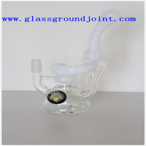 Smoking Glass Pipe with Glass Ground Joints pictures & photos