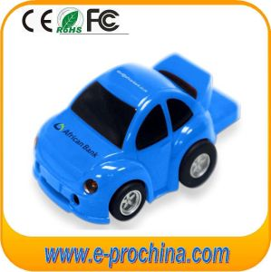 PVC Car Shape Customize Logo USB Flash Pen Drive for Promotion (EP293) pictures & photos