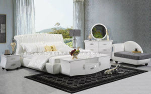 Modern Leather Bed (B1103)