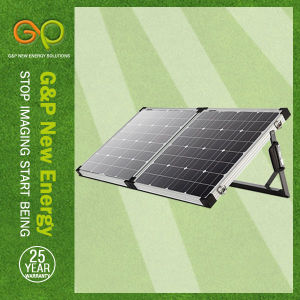 80wp Folding Panel Monocrystalline, Portable Panel with MPPT or Pmw Controller pictures & photos
