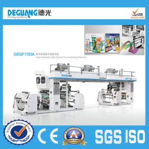 Fully Automatic High Speed Dry Laminating Machine (GSGF1100A model) pictures & photos