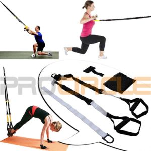 Exercise Straps Fitness Flexible Suspension Trainer (PC-ST2001) pictures & photos