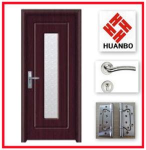 Modern Design PVC Interior MDF Wooden Door Hb-032