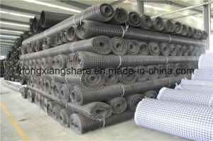 High Tensile Strength Warp Knitted Geogrid pictures & photos