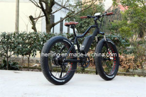 Moped with Pedals 26 Rear Motor Electric Bicycle/Ebike pictures & photos
