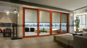 Aluminum Sliding Doors with AS/NZS2208 with Double Glazed pictures & photos