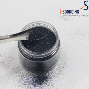 Bulk Black Glitter Powder for Craft Glitter Candle Light pictures & photos