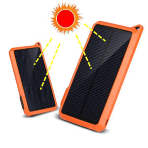 10000mAh Silicon Solar Panel Charger Battery Power Bank Pb-Ss002 pictures & photos