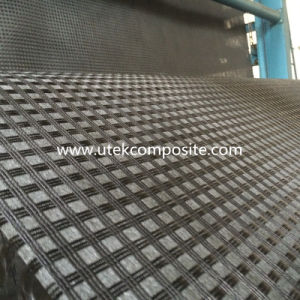 Bitumen Coated Polyester Geogrid with Light Weight Nonwoven pictures & photos