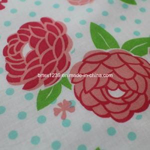 100%Cotton Voile Fabric for Apparels with Flower Printed (75GSM) pictures & photos