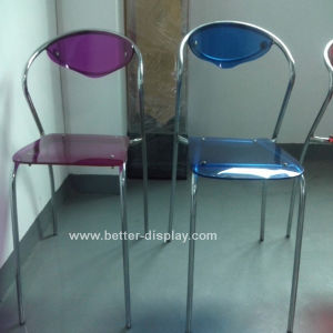 Acrylic Colored Plastic Chair (BTR-Q3013) pictures & photos