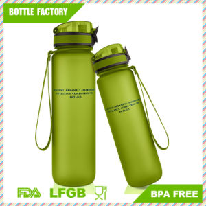 Leak Proof Wide Mouth BPA-Free Tritan Plastic Water Bottle with Handle pictures & photos