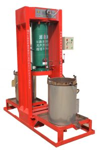 Source Brand Hydraulic Oil Press with Double Barrel