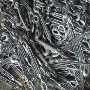 Us Type Galvanized Construction Wire Rope Turnbuckle pictures & photos
