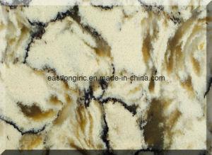 White Marble Artificial Quartz Stone Countertop pictures & photos