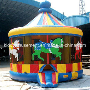 Inflatable Carousel Castle Bouncer for Children pictures & photos
