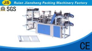 Lyzd-B500/800 Computer Control Two-Layer Rolling Bag-Making Machine for Vest&Flag Bags