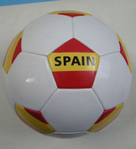 Spain Country Flag Soccerball pictures & photos