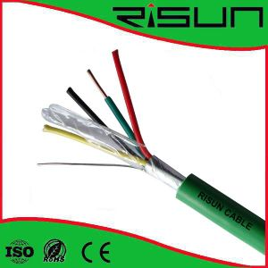 4 Cores Shielded Alarm Cable with Solid or Strand Conductor and Frpvc Jacket pictures & photos