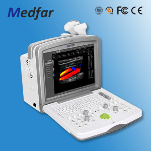 Medical Equipment Full Digital Portable Color Doppler System Ultrasound (MFC6000) pictures & photos