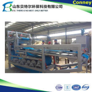 Belt Filter Press Solid Liquid Separation pictures & photos