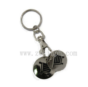 Custom Made Trolley Coin Keyring pictures & photos