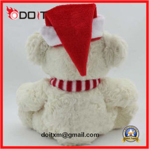 White Snowman Teddy Bear Christmas Teddy Bear with Scarve pictures & photos