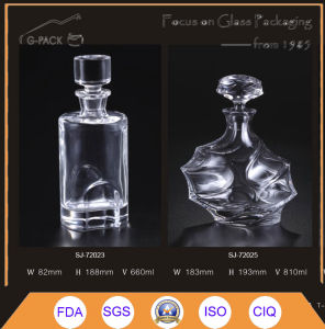 Crystal Brandy Decanters with Glass Stopper/Liqueurs Bottle pictures & photos