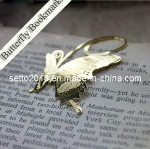 Supply Metal Etched Bookmarks with Golden Electroplated