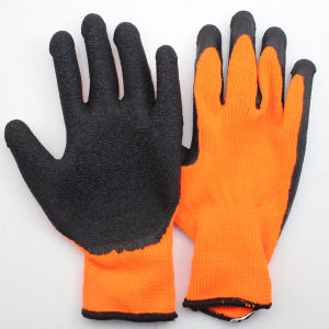 Latex Palm Coated Work Gloves pictures & photos