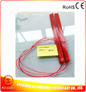 230V 80W 650*20*1.5mm Silicone Rubber Heater for Motor pictures & photos