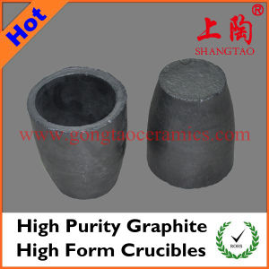 Hihg Purity Graphite High Form Crucibles pictures & photos