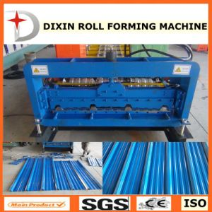 Trapezoidal Galvanized Tiles Roof Forming Machine pictures & photos