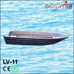 V Head Luxury Small Aluminium Boat with 2.0mm Thickness (LV11) pictures & photos