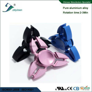 Entertainment Tri Leaves Alloy of Crablike Hand Spinner Toys Very Hot Selling pictures & photos