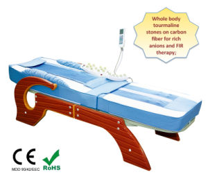 Electric Lift Table Massage / Full Body Tourmaline Thermal Jade Stone Bed Massage pictures & photos