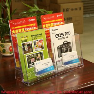 Office Supply Acrylic Book Stand pictures & photos