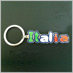 Italy Tourism Souvenir Gifts Fashion Style Keychain with Color (F1221)