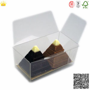 PVC Clear Chocolate Box/PE Clear Cookies Box (mx-115) pictures & photos