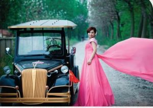 8 Seaters Electric Classic Car for Wedding pictures & photos