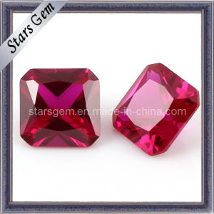 Square Shape Asscher Cut 5# Ruby pictures & photos