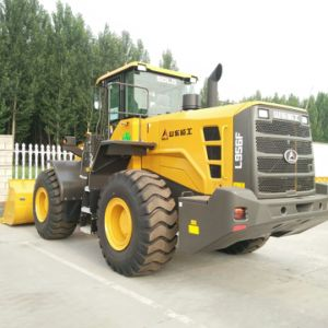 Shandong Lingong 5t Wheel Loader LG956L for Mining, Rock or Coal pictures & photos